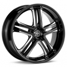 Диск Enkei Performance AKP Black Machined w/Ice Coating